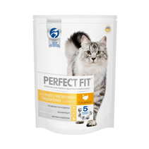 Perfect Fit Sensitive / Сухой корм Перфект Фит для чувствительных кошек Индейка