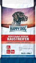 Happy Dog Kaustreifen / Лакомство для собак Жевательные Полоски Говядина и Телятина