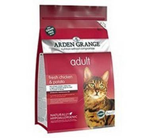 Arden Grange Adult Chicken & Potato Grain Free / Сухой корм Ардэн Грэндж Беззерновой для взрослых кошек Курица и Картофель