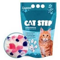 Заказать Cat Step Laguna / Силикагелевый наполнитель для кошачьего туалета Лагуна по цене 340 руб