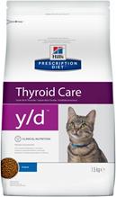 Hills Prescription Diet y\d Thyroid Care / Лечебный корм Хиллс для кошек Гипертиреоз
