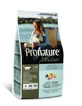 Pronature Holistic / Сухой корм Пронатюр Холистик для кошек для кожи и шерсти Лосось с рисом