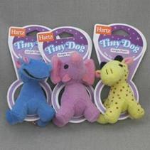 """Hartz Tiny Jungle Plush Toy / Игрушка Хартц для собак мягкая """"Африканское животное"""" маленькая"""