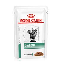 Royal Canin Diabetic / Ветеринарный влажный корм (Консервы-Паучи) Роял Канин Диабетик для кошек Сахарный диабет (цена за упаковку)