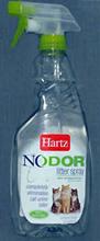 Hartz Nodor litter spray (unscented) / Средство Хартц Уничтожитель запахов в кошачьих туалетах (без ароматизатора)