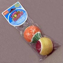 """Hartz Game Set Match Toy / Игрушка Хартц для собак """"Два теннисных мяча"""" маленькая"""