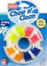 """Hartz Chewn Clean Teethingring Toy / Игрушка Хартц для собак """"Кольцо для очищения зубов и массажа десен"""" со вкусом бекона"""