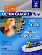Заказать Hartz Ultra Guard Plus Collar / Ошейник для собак Инсектоакарицидный (обхват шеи до 58см) Белый по цене 790 руб