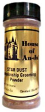 Заказать Jerob Star Dust Grooming Powder Medium Brown / Оттеночная пудра для шерсти животных Коричневая по цене 1190 руб