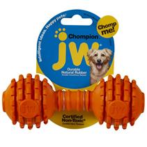 JW Chompion / Игрушка для собак Гантель с Шипами каучук