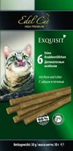 Edel Cat / Жевательные Колбаски для кошек Заяц и Печень