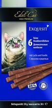 Edel Cat / Жевательные Колбаски для кошек Лосось и Форель