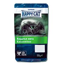 Happy Cat / Лакомство Хэппи Кэт для кошек Лакомые Подушечки Кошачья мята