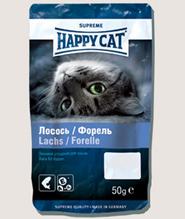 Заказать Happy Cat / Лакомство для кошек Лакомое Угощение Лосось и Форель по цене 100 руб