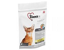 1st Choice Hypoallergenic / Сухой Беззерновой корм Фёст Чойс для кошек Утка с картофелем