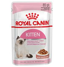 Заказать Royal Canin Kitten Instinctive Jelly / Влажный корм (Консервы-Паучи) Роял Канин Киттен Инстинктив для Котят в возрасте от 4 до 12 месяцев в Желе (цена за упаковку) по цене 650 руб
