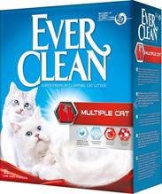 Ever Clean Multiple Cat / Наполнитель для кошачьего туалета комкующийся Эвер Клин для Нескольких кошек
