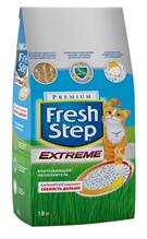 Fresh Step Extreme / Наполнитель для кошачьего туалета Фреш Степ Впитывающий тройной контроль запаха