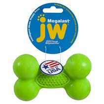 JW Megalast Bone / Игрушка для собак Косточка суперупругая резина