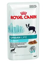 Заказать Royal Canin Urban Life Junior / Влажный корм (Паучи) Роял Канин Урбан Лайф Юниор для Щенков, живущих в городской среде (Цена за упаковку) по цене 670 руб