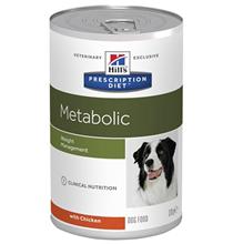 Hills Prescription Diet Metabolic Original / Лечебные консервы Хиллс для собак Коррекция веса (цена за упаковку)