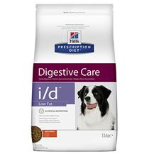 Hills Prescription Diet i\d Digestive Care Low Fat / Лечебный корм Хиллс для собак при расстройствах Пищеварения и ЖКТ Низкокалорийный
