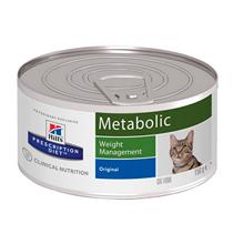 Hills Prescription Diet Metabolic Weight Management / Лечебные консервы Хиллс для кошек Коррекция веса (цена за упаковку)