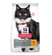 Hills Science Plan Sterilised Mature Adult 7+ / Сухой корм Хиллс для Пожилых Стерилизованных кошек старше 7 лет Курица