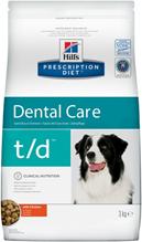 Заказать Hills Prescription Diet Canine t / d Лечебный корм для собак Заболевание зубов и полости рта по цене 2080 руб