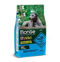 Monge Dog BWild Grain Free Adult All Breeds Anchovies Potatoes Peas / Сухой Беззерновой корм Монж Бивайлд для взрослых собак всех пород Анчоусы картофель горох