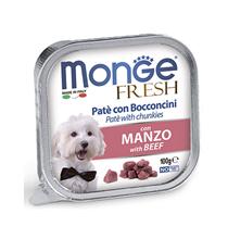 Monge Dog Fresh Beef / Влажный корм Консервы Монж Фреш для взрослых собак Говядина (цена за упаковку)