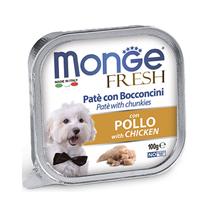Monge Dog Fresh Chicken / Влажный корм Консервы Монж Фреш для взрослых собак Курица (цена за упаковку)