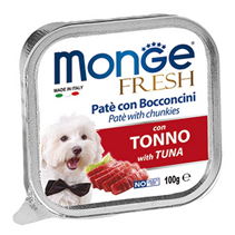 Monge Dog Fresh Tuna / Влажный корм Консервы Монж Фреш для взрослых собак Тунец (цена за упаковку)