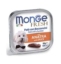 Monge Dog Fresh Duck / Влажный корм Консервы Монж Фреш для взрослых собак Утка (цена за упаковку)