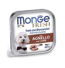 Monge Dog Fresh Lamb / Влажный корм Консервы Монж Фреш для взрослых собак Ягненок (цена за упаковку)