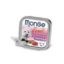 Заказать Monge Dog Fruit / консервы для собак курица с малиной Цена за упаковку по цене 2100 руб