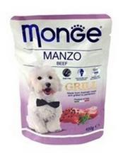 Monge Dog Grill Beef / Влажный корм Паучи Монж Гриль для взрослых собак Говядина (цена за упаковку)