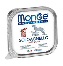 Monge Dog Monoproteico Solo Lamb / Влажный корм Паштет Монж Монопротеиновый для взрослых собак Ягнёнок (цена за упаковку)