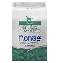 Monge Cat Hairball / Сухой корм Монж для кошек Выведение Шерсти