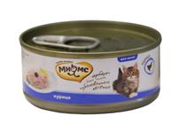Мнямс Влажный корм Консервы для Котят Курица в желе (цена за упаковку)