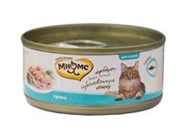 Мнямс Влажный корм Консервы для кошек Тунец в желе (цена за упаковку)