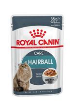 Royal Canin Hairball Care / Влажный корм (Консервы-Паучи) Роял Канин Хэйрбол Кэа для кошек Вывод волосяных комочков (цена за упаковку)