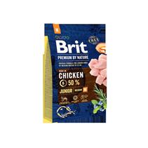 Brit Premium by Nature Junior M / Сухой корм Брит Премиум для Молодых собак Средних пород Курица