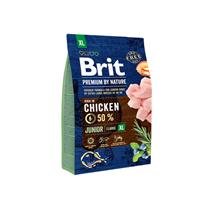 Brit Premium by Nature Junior XL / Сухой корм Брит Премиум для Молодых собак Гигантских пород Курица