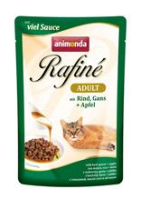 Заказать Animonda Rafine Soupe Senior / паучи для Пожилых кошек старше 7 лет коктейль из мяса Курицы, Телятины и Сыра Цена за упаковку по цене 1030 руб
