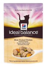 Заказать Hills Ideal Balance Adult Chicken & Vegetables / Паучи для Кошек с Курицей и Овощами (цена за упаковку) по цене 790 руб