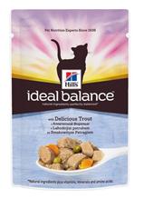Заказать Hills Ideal Balance Adult Trout & Vegetables / Паучи для Кошек с Форелью и Овощами (цена за упаковку) по цене 740 руб