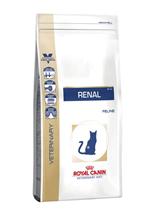 Заказать Royal Canin Renal RF23 / Ветеринарный сухой корм Роял Канин Ренал для кошек Заболевание почек (хроническая почечная недостаточность) по цене 510 руб
