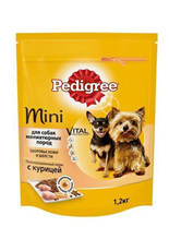 Заказать Pedigree Mini / Сухой корм для взрослых собак Миниатюрных пород Курица по цене 130 руб