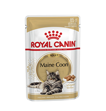 Royal Canin Breed cat Maine Coon / Влажный корм (Консервы-Паучи) Роял Канин для кошек породы Мэйн Кун